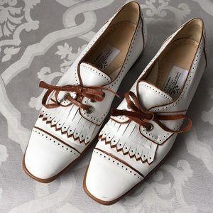 Walter Genuin Handmade Italian Leather Golf Shoes